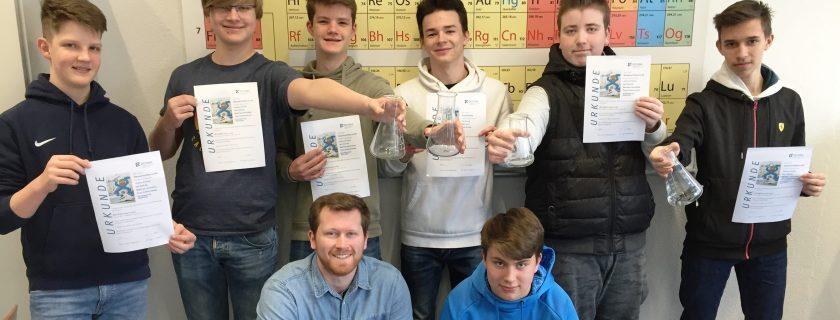 Chemiewettbewerb Dechemax