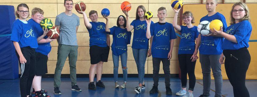Sporthelferausbildung absolviert
