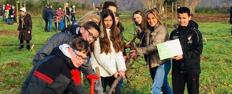 Baum Challenge für ein grünes Langenfeld